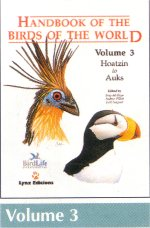 Handbook of the Birds of the World Volume 3